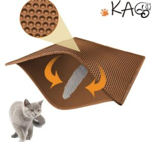 sisal cat litter mat