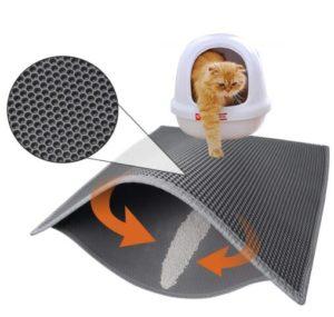 washable cat litter mat