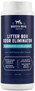 natural cat litter deodorizer