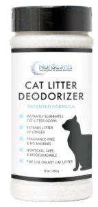 cat litter deodorizer