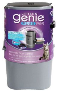 genie cat litter disposal system