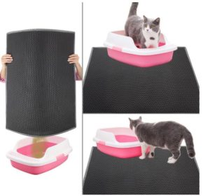 plastic cat litter mat