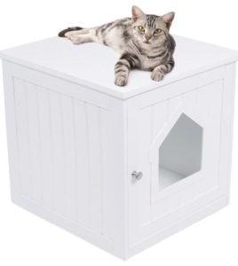 indoor cat litter box