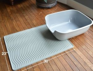 pet fusion cat litter mat