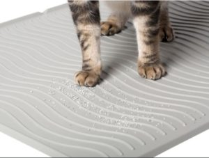 washable cat litter mat