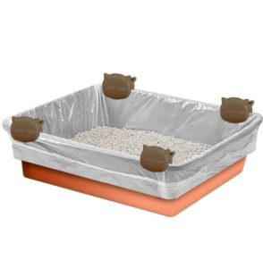 litter box liners for cats with claws