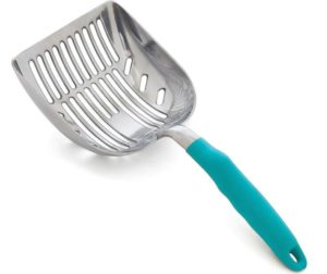cat litter scoop with small holes