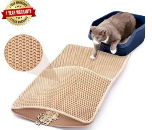 microfiber cat litter mat