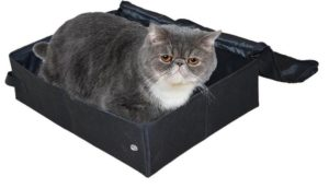 self contained cat litter box