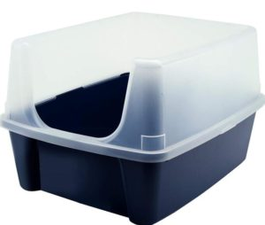 open top cat litter box