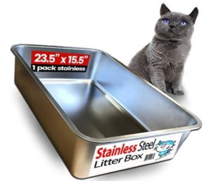small cat litter box