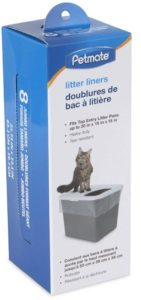 top entry litter box liners