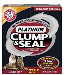 best clumping cat litter for multiple cats