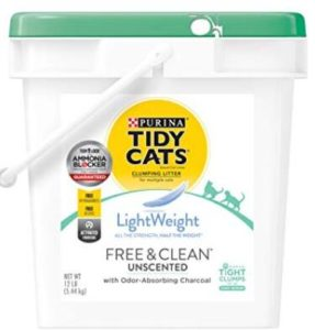 flushable clumping cat litter