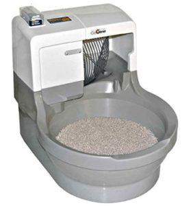 cheap automatic cat litter box