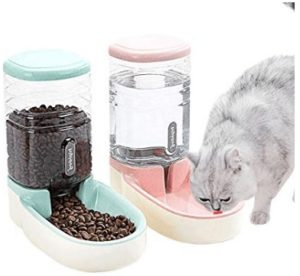 automatic cat feeder for 2 cats