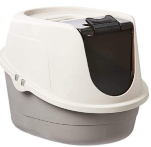 covered cat litter box for large cats