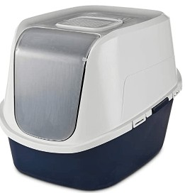 extra large covered litter box for large cats