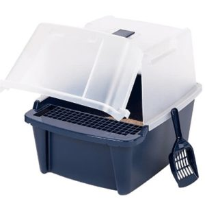 jumbo covered cat litter box