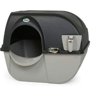 side sifting litter box