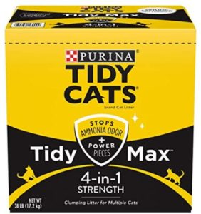 best clumping cat litter for odor control