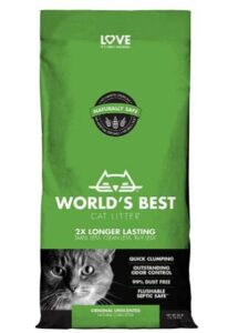 best odor control cat litter for multiple cats