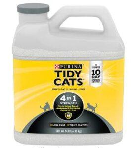natural cat litter odor control