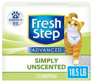 unscented cat litter for dust