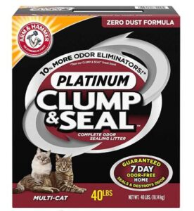 clumping litters for odor