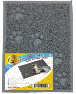 cat litter tracking mat