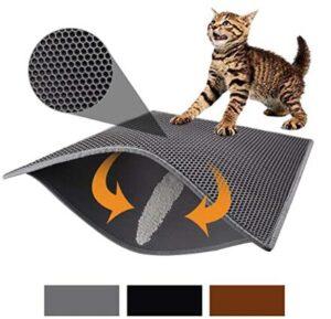 mat for under cat litter box