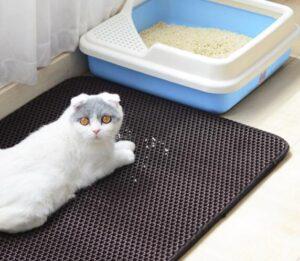 easyology cat litter mat