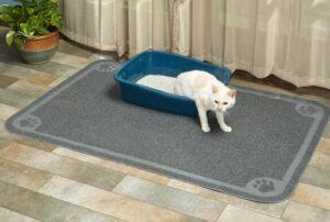 cat litter catching mat