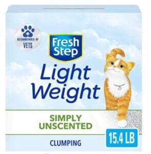 lightweight clumping cat litter