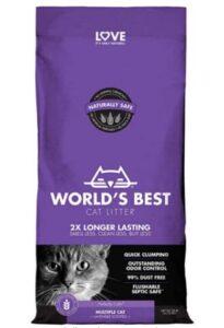 best cat litter for 2 cats