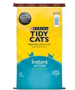best kitty litter for odor control