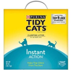 clumping cat litter for 3 cats