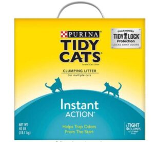 odor free clumping cat litters