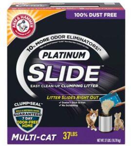 premium cat litter for cats