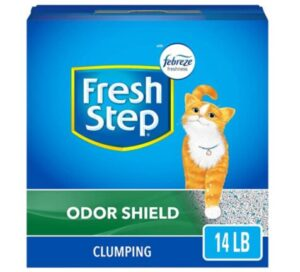 odor free clumping litter
