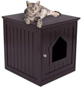best durable indoor cat litter box