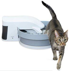 PetSafe Quiet Self Cleaning Cat Litter Box