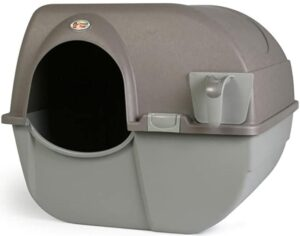 Omega Paw Large Self Cleaning Kitty Litter Box