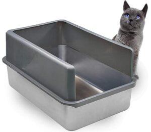 iPrimio Stainless Steel litter box