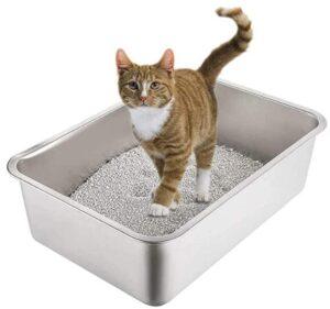 Yangbaga Stainless Steel litter box