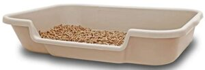 KittyGoHere Litter Box with Low Opening Design