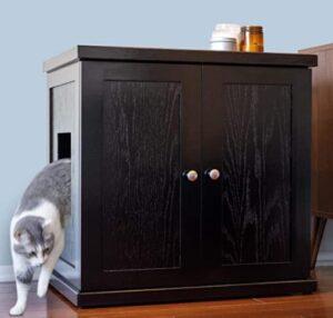 The REFINED FELINE Large cat box furniture