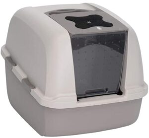 Catit Jumbo Enclosed Cat Litter Box