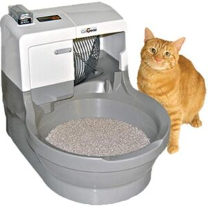 Catgenie electric cat litter box for multiple cats