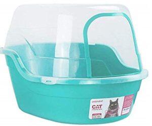 Pethabet Jumbo hooded cat litter box
